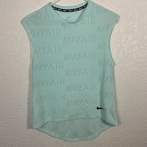 Nike AIr Muscle Tank Top Light Blue XS